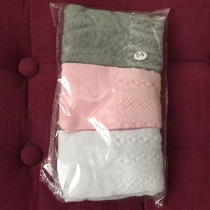 Other - Pack of 3 baby tights size 0 - 6mo